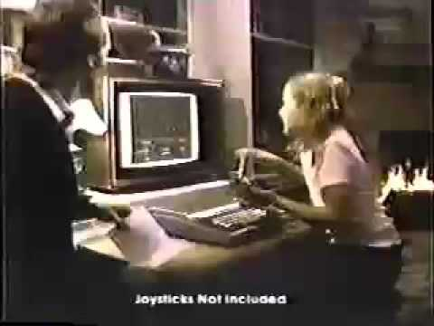 1980 Radio Shack TV Commercial - TRS-80 Color Computer (COCO)
