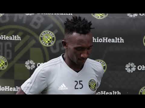 Video: SOUNDBYTE | Harrison Afful on concentration and transition ahead of #MTLvCLB