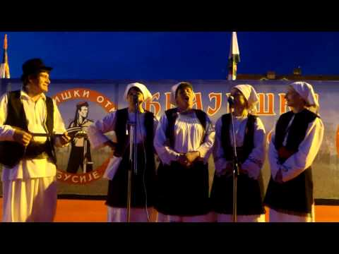 Prelo prelim nije mi do prela - izvodi pevačka grupa ZU Banija iz Beograda