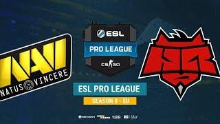 Na`Vi vs HellRaisers - ESL Pro League S8 EU - bo1 - de_overpass [Mintgod, Gromjke]