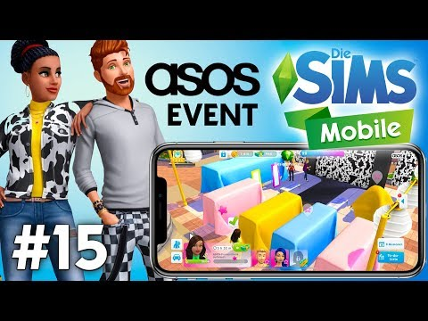 Let's Play Die Sims Mobile #15 | ASOS Mode Events & Yoga Hobby