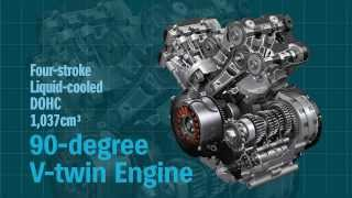 9. V-Strom 1000 ABS Feature movie --Engine