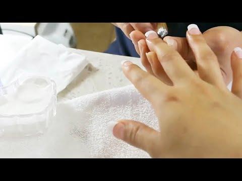 Técnicas asiáticas para hacer uñas acrilicas más rápido y de salón