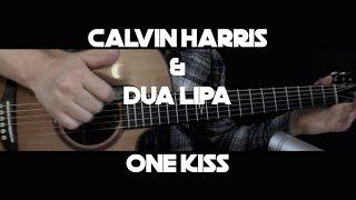 Calvin Harris & Dua Lipa - One Kiss - Fingerstyle Guitar