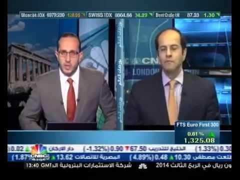 أشرف العايدي على سي ان بي سي العربية – 29 أكتوبر 2014