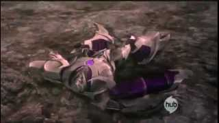 Transformers Prime Optimus VS Megatron
