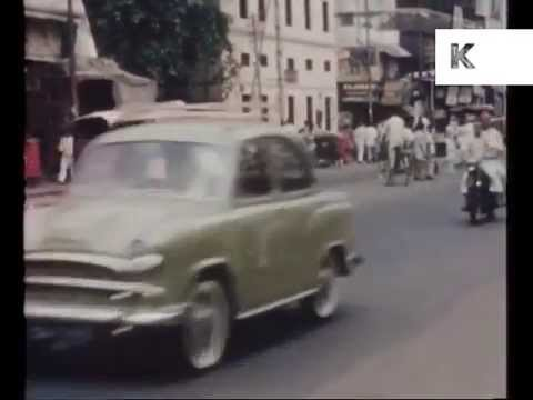 Video 1960s India, Streets, Cars, River, Rare 16mm Colour Home Movie Footage download in MP3, 3GP, MP4, WEBM, AVI, FLV January 2017