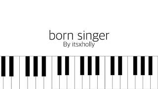 Video born singer // bts // piano tutorial MP3, 3GP, MP4, WEBM, AVI, FLV Juli 2018