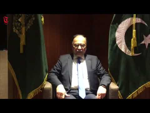 Video: Pakistani minister addresses countrymen in Oman