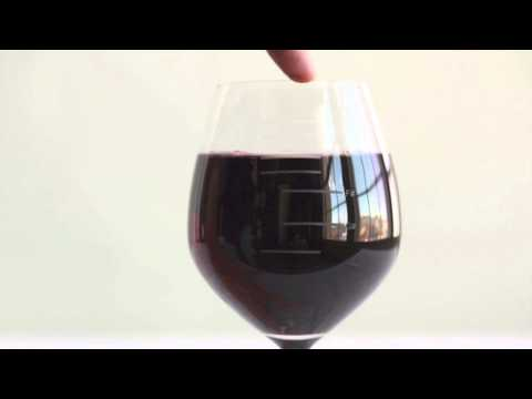 Major Scale Musical Wine Glass