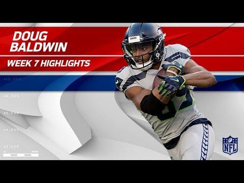 Video: Doug Baldwin's 9 Grabs, 92 Yards & 1 TD vs. New York! | Seahawks vs. Giants | Wk 7 Player Highlights
