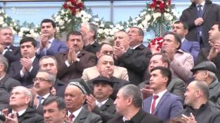 Tajik President Emomali Rahmon showed off his dance moves at celebrations for the festival of Norouz which marks the Persian New Year and the arrival of ...