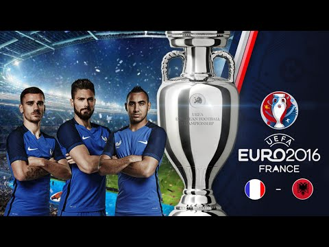 PES 2016 : UEFA EURO 2016™ | France - Albanie | Second Match Du Groupe A