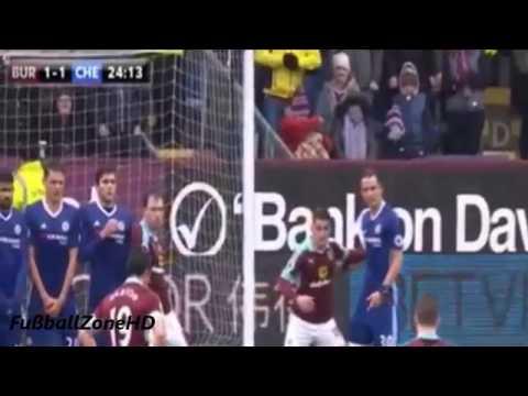 Fc Burnley Vs Fc Chelsea 1 1 All Goals All Highlights 12 02 2017