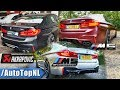 BMW M5 F90 Exhaust Sound | STOCK vs COMPETITION vs AKRAPOVIC by AutoTopNL