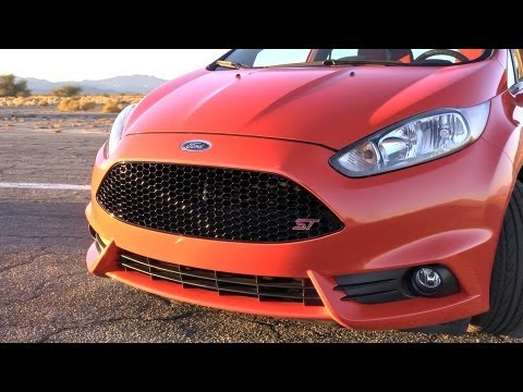 The New 145kW 2014 Ford Fiesta ST [Video]