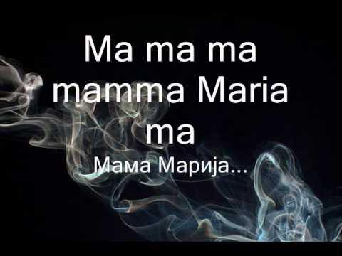 Ricchi e Poveri Mamma Maria srpski prevod