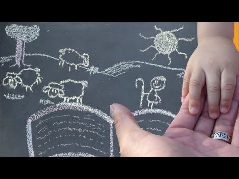 Jesus Loves Me ♥ Lullaby with Adorable Chalk Animation (Instrumental vs)