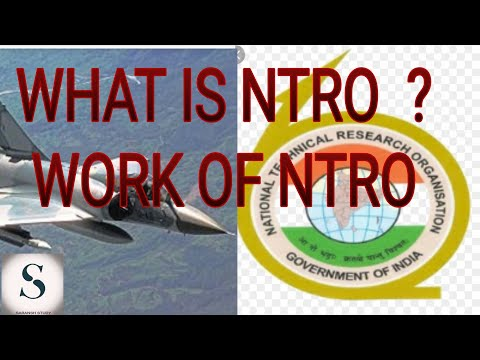 About National Technical Research Organization(ntro)