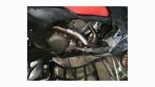 8. Exhaust Honda TRX 700 XX