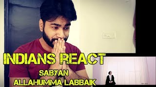 Video SABYAN ALLAHUMMA LABBAIK Reaction MP3, 3GP, MP4, WEBM, AVI, FLV Januari 2019