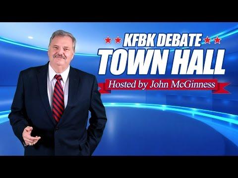 KFBK Debate Town Hall