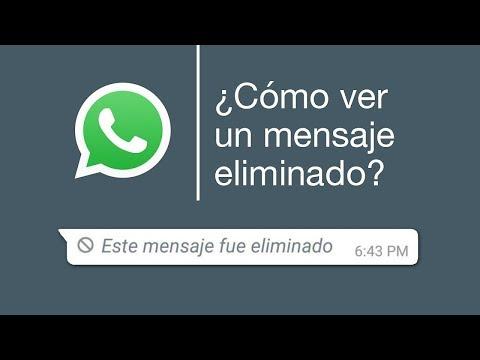Un truco para ver mensajes borrados en Whatsapp