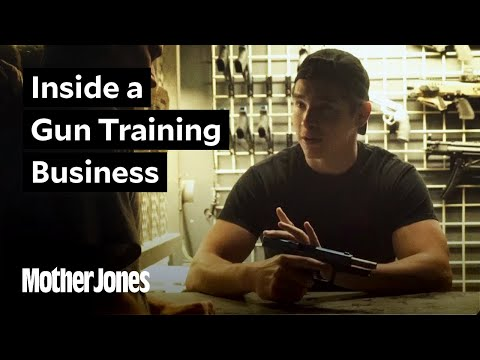 Inside a gun training business, days after the Las Vegas massacre.