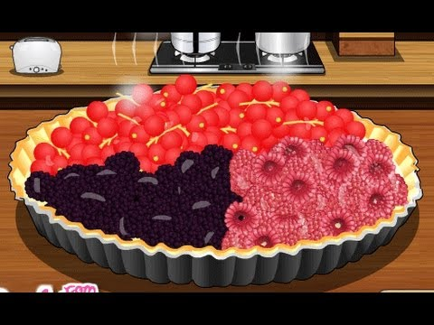 Fresh Berry Tart Games-Cooking Games-Girl Games