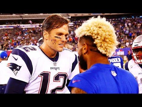TOM BRADY VS ODELL BECKHAM JR. 1 on 1 (Tom Brady vs Odell Beckham Jr.) Madden 18