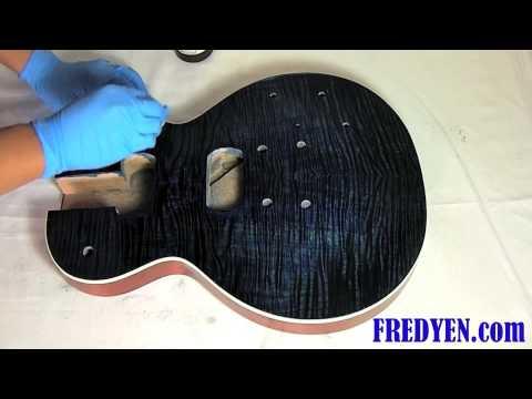 Video DIY Les Paul Guitar Kit (Part 3: Applying Oil Finish) download in MP3, 3GP, MP4, WEBM, AVI, FLV January 2017