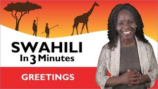 Learn Swahili  - Greetings