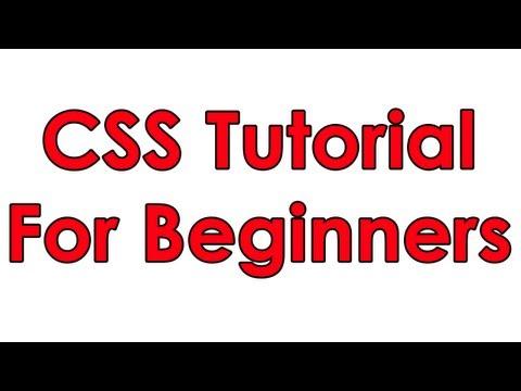 CSS Tutorial Pt 1 – Basic Layout