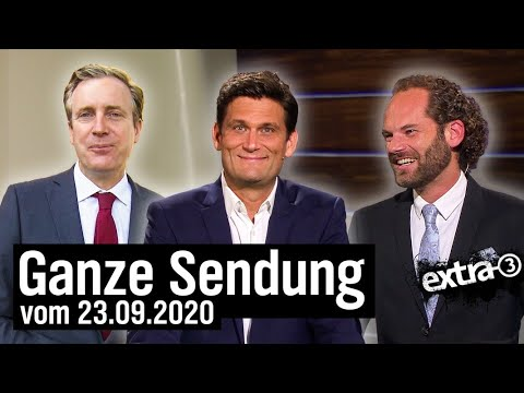 Extra 3 vom 23.09.2020 mit Christian Ehring | extra 3 | NDR