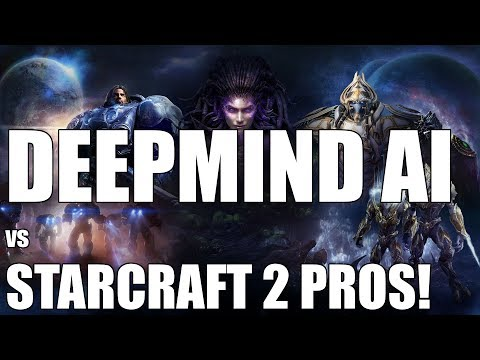 DeepMind AI Battles Starcraft 2 Pros || AlphaStar Vs Team Liquid's TLO & Mana!