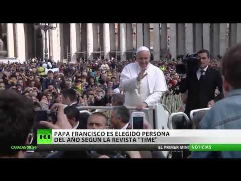 El papa Francisco, elegido Persona del Año 2013 por la revista 'Time'