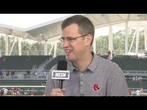 Video: Sam Kennedy Red Sox Spring Training Interview