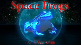 "More proof that frogs come from Deep Space on a daily basis, as told by Holofrog the Space Frog.  The Origin of Life & Panspermia taken to the next level - Darwin vs. prof. Drock, part 2 Watch part 1 here:  https://www.youtube.com/watch?v=v2DjAZy8X1Y Evolution is change in the heritable traits of biological populations over successive generations.[1] Evolutionary processes give rise to diversity at every level of biological organisation, including the levels of species, individual organisms, and molecules.[2]All life on Earth shares a common ancestor known as the last universal ancestor,[3][4][5] which lived approximately 3.5–3.8 billion years ago,[6] although a study in 2015 found ""remains of biotic life"" from 4.1 billion years ago in ancient rocks in Western Australia.[7][8] According to one of the researchers, ""If life arose relatively quickly on Earth ... then it could be common in the universe.""[7]Repeated formation of new species (speciation), change within species (anagenesis), and loss of species (extinction) throughout the evolutionary history of life on Earth are demonstrated by shared sets of morphological and biochemical traits, including shared DNA sequences.[9] These shared traits are more similar among species that share a more recent common ancestor, and can be used to reconstruct a biological ""tree of life"" based on evolutionary relationships (phylogenetics), using both existing species and fossils. The fossil record includes a progression from early biogenic graphite,[10] to microbial mat fossils,[11][12][13] to fossilized multicellular organisms. Existing patterns of biodiversity have been shaped both by speciation and by extinction.[14] More than 99 percent of all species that ever lived on Earth are estimated to be extinct.[15][16] Estimates of Earth's current species range from 10 to 14 million,[17] of which about 1.2 million have been documented.[18]In the mid-19th century, Charles Darwin formulated the scientific theory of evolution by natural selection, published in his book On the Origin of Species (1859). Evolution by natural selection is a process demonstrated by the observation that more offspring are produced than can possibly survive, along with three facts about populations: 1) traits vary among individuals with respect to morphology, physiology, and behaviour (phenotypic variation), 2) different traits confer different rates of survival and reproduction (differential fitness), and 3) traits can be passed from generation to generation (heritability of fitness).[19] Thus, in successive generations members of a population are replaced by progeny of parents better adapted to survive and reproduce in the biophysical environment in which natural selection takes place. This teleonomy is the quality whereby the process of natural selection creates and preserves traits that are seemingly fitted for the functional roles they perform.[20] Natural selection is the only known cause of adaptation but not the only known cause of evolution. Other, nonadaptive causes of microevolution include mutation and genetic drift.[21]In the early 20th century the modern evolutionary synthesis integrated classical genetics with Darwin's theory of evolution by natural selection through the discipline of population genetics. The importance of natural selection as a cause of evolution was accepted into other branches of biology. Moreover, previously held notions about evolution, such as orthogenesis, evolutionism, and other beliefs about innate ""progress"" within the largest-scale trends in evolution, became obsolete scientific theories.[22] Scientists continue to study various aspects of evolutionary biology by forming and testing hypotheses, constructing mathematical models of theoretical biology and biological theories, using observational data, and performing experiments in both the field and the laboratory. Evolution is a cornerstone of modern science, accepted as one of the most reliably established of all facts and theories of science, based on evidence not just from the biological sciences but also from anthropology, psychology, astrophysics, chemistry, geology, physics, mathematics, and other scientific disciplines, as well as behavioral and social sciences. Understanding of evolution has made significant contributions to humanity, including the prevention and treatment of human disease, new agricultural products, industrial innovations, a subfield of computer science, and rapid advances in life sciences.[23][24][25] Discoveries in evolutionary biology have made a significant impact not just in the traditional branches of biology but also in other academic disciplines (e.g., biological anthropology and evolutionary psychology) and in society at large.Source: Wikipedia https://en.wikipedia.org/wiki/Evolution Music: Crusade by Kevin MacLeod www.incompetech.com"