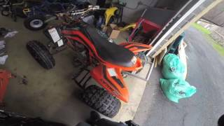 9. 2008 Yamaha Raptor 250 Se For Sale