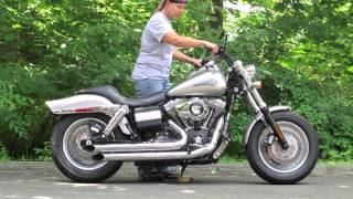 3. Harley Dyna Fat Bob FXDF Exhaust