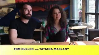 Tatiana Maslany Tom Cullen   Joey Klein Interview   The Other Half Film Sxsw 2016 Oneofus Net