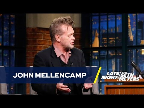 Bob Dylan Persuaded John Mellencamp to Start Selling His Paintings