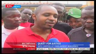 KTN Prime, Woman Gives Birth Outside Parliament In Quest For Justice, 20/10/2016