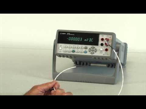 Building a Temperature Probe for 34410A Digital Bench Multimeter