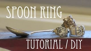 Spoon Ring || Tutorial DIY - YouTube