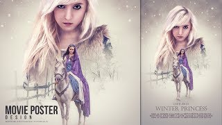 In this tutorial we will learn how to Make a movie poster with soft color effect using Photoshop and Nik Software color filter Efex Pro 4. Enjoy and thanks for watching!More Photoshop Tutorials: http://www.youtube.com/c/MirRom14Tutorial Resources:Model1 by Aquilina-das: http://aquilina-das.deviantart.com/art/Arwen-677709877Model2 by Liancary-art: http://liancary-art.deviantart.com/art/snow-elf-6-349600002Winter1 : https://pixabay.com/en/winter-nature-season-trees-sky-20248/Winter2 : https://pixabay.com/en/winter-nature-season-trees-sky-20234/Snow Patch Brushes by FrostBo: http://frostbo.deviantart.com/art/Snow-Patch-Brushes-Photoshop-275633962Follow Us : Google+ : https://goo.gl/PMkAPNWeb : http://goo.gl/E4vwh4Twitter : http://bit.ly/1RlY5QnFacebook : https://goo.gl/H5m598