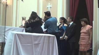 From this Moment - Cumprimento dos Padrinhos na Igreja Coração de Maria em Santos