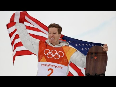 Shaun White saves best for last to win third halfpipe gold