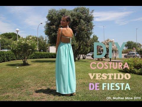 como hacer un vestido - DIY Costura avanzada, cómo hacer este vestido de fiesta para bodas, bautizos, comuniones y graduaciones. Patrones gratis (moldes gratis) incluidos en el blog...