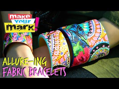 Allure-ing Fabric Bracelets